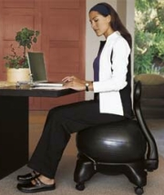 Exercise Ball Chair The Benefits Of Sitting On An Exercise Ball While Ball Chair Store - Fitness Ball Chair