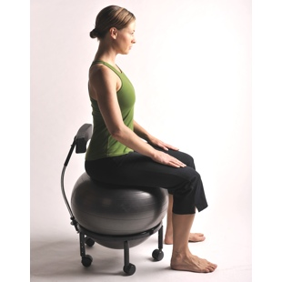 Ball Chair Store Desk Exercises to Lose Weight